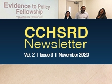 CCHSRD Newsletter Volume 2 Issue 3