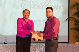 Top performing student