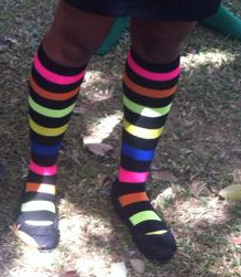 Lots of Socks� at UWI in support of World Down Syndrome Day and upcoming Disabilities Conference