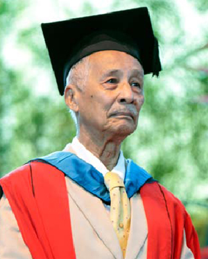 The UWI St. Augustine mourns the passing of Honorary Graduate Alloy Lequay