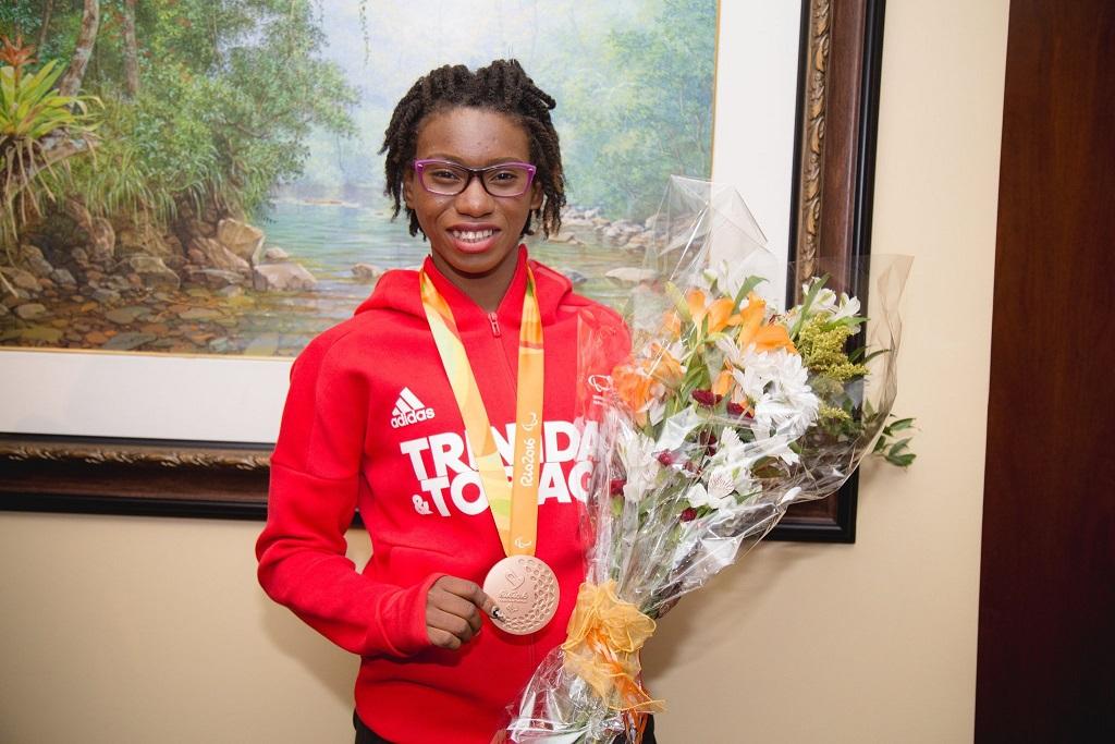 UWI congratulates Paralympic bronze medallist, student Nyoshia Cain