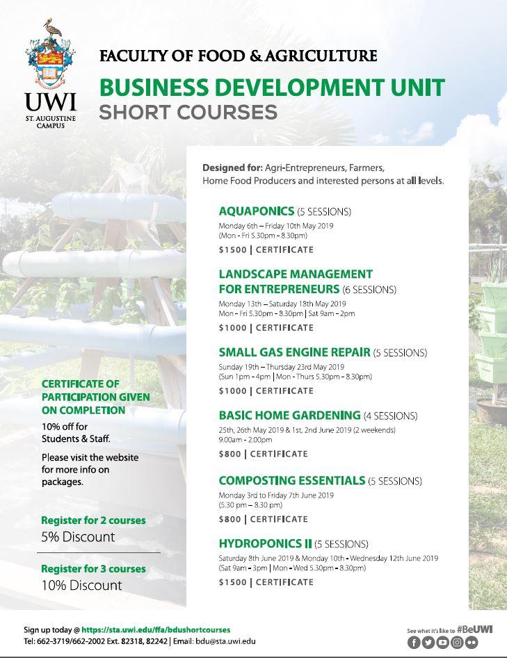 FFA BDU Courses