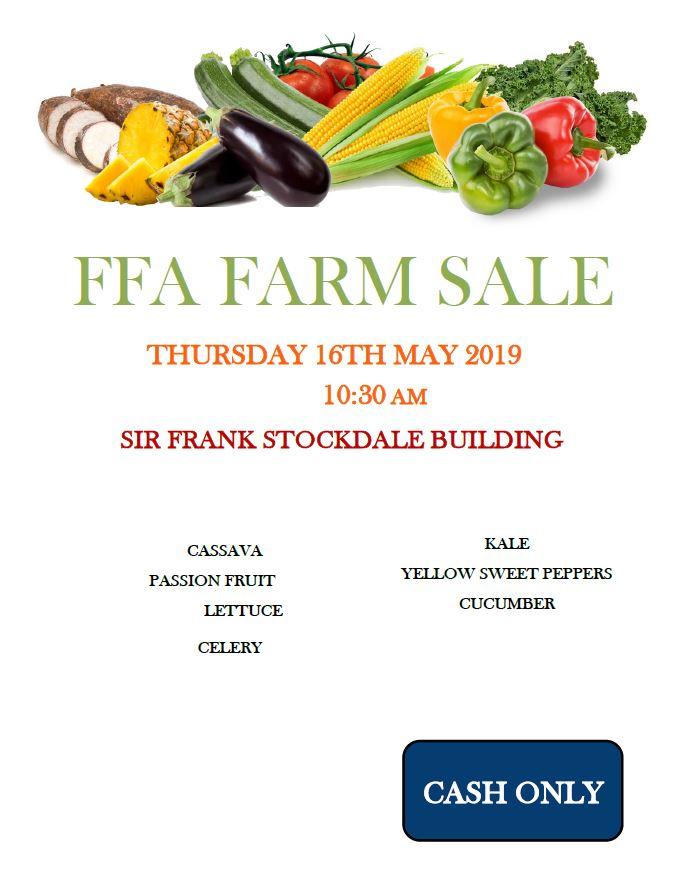 FFA Farm Sale May 16