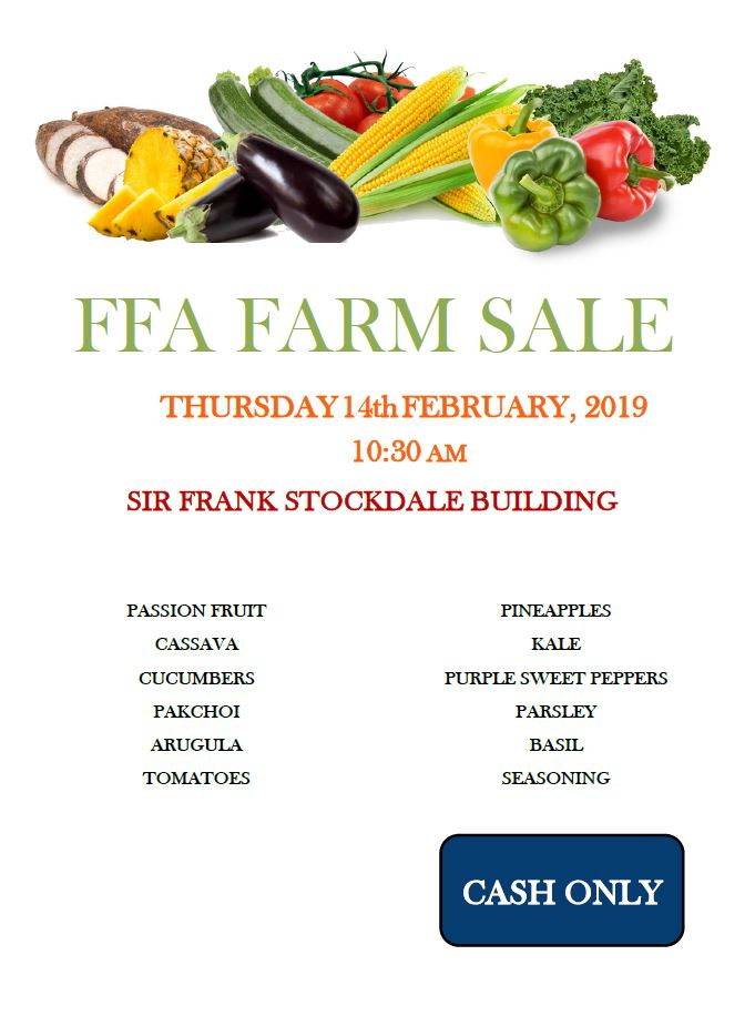 FFA FARM SALE FEB 14
