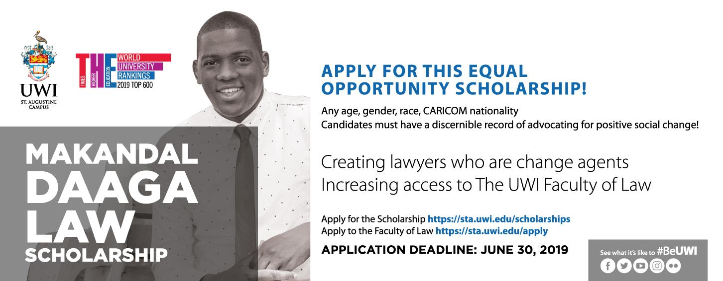 Makandal Daaga Scholarship 2019