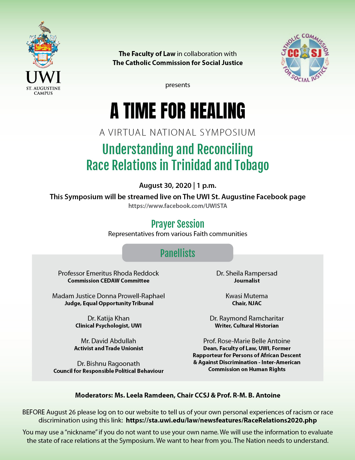 Faculty of Law Symposium on Race 2020