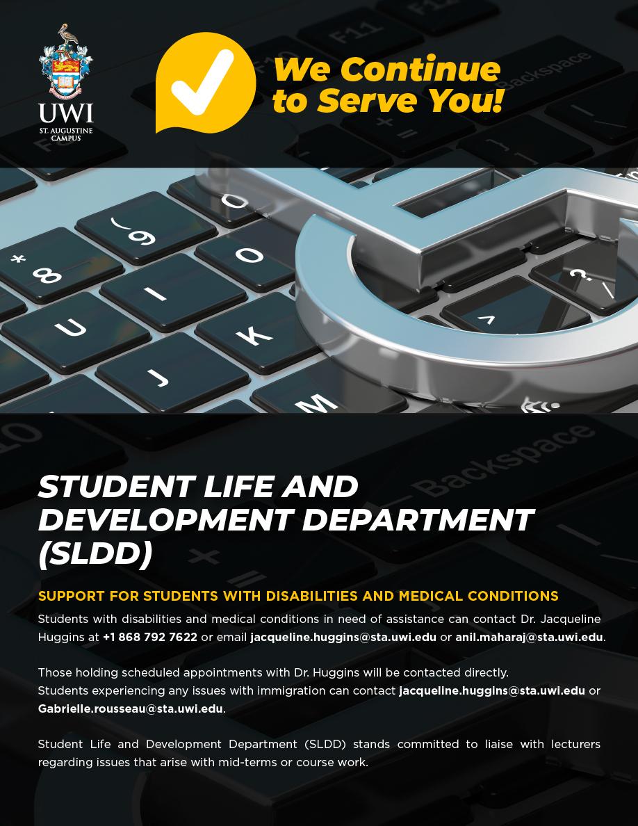 SLDD Student Services 2020