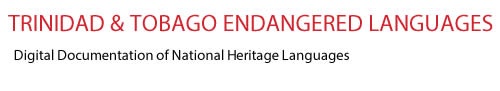 Trinidad and Tobago Endangered Languages