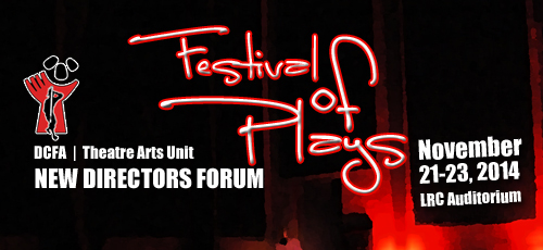 New Director's Forum: Festival of Plays