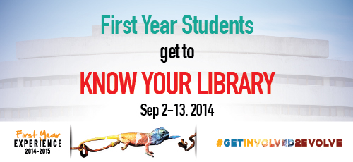 FYE: Know Your Library Tours