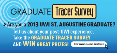 Are you a 2013 UWI St. Augustine Graduate?