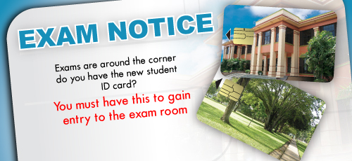 Do you have the new student ID card?