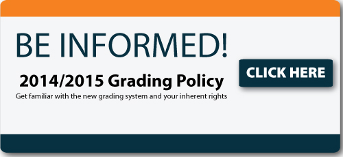 Get familiar with the new grading policy