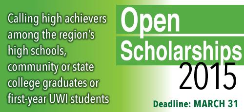 Open Scholarships
