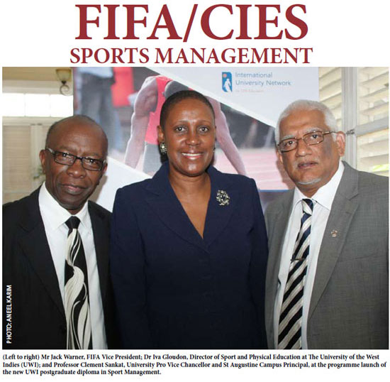 UWI introduces FIFA/CIES postgrad programme